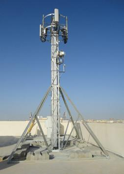 Fast Deployment Of Site Application Of The New Rooftop Tower