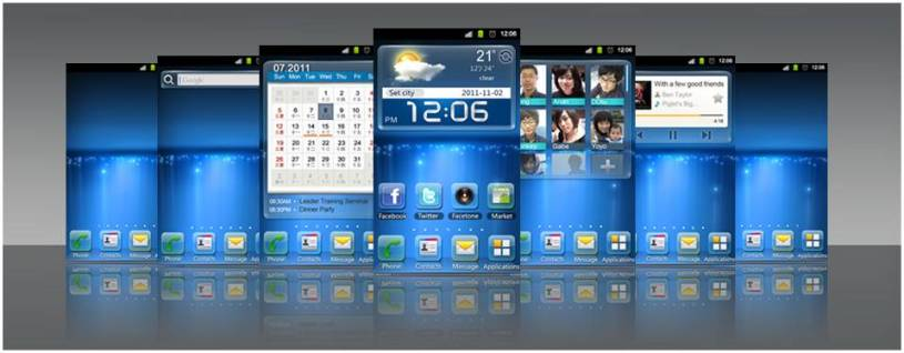 ZTE Mifavor User Interface Comes to Android - ZTE Press Release